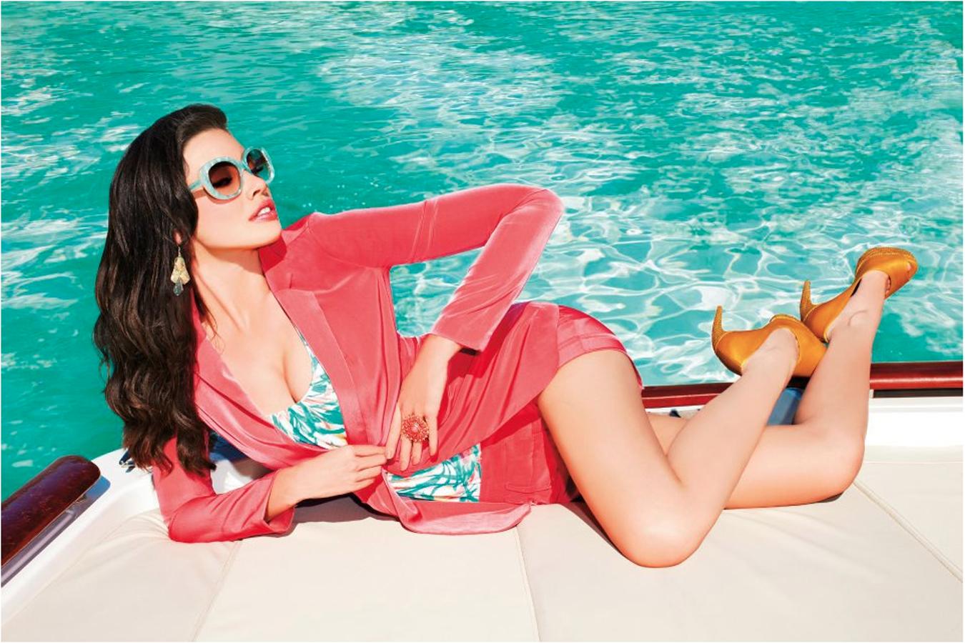 Dynamite Spring Ad campaign 2012  Model - Stéphanie @ LA Models  Photographer - Mathieu Lacasse
