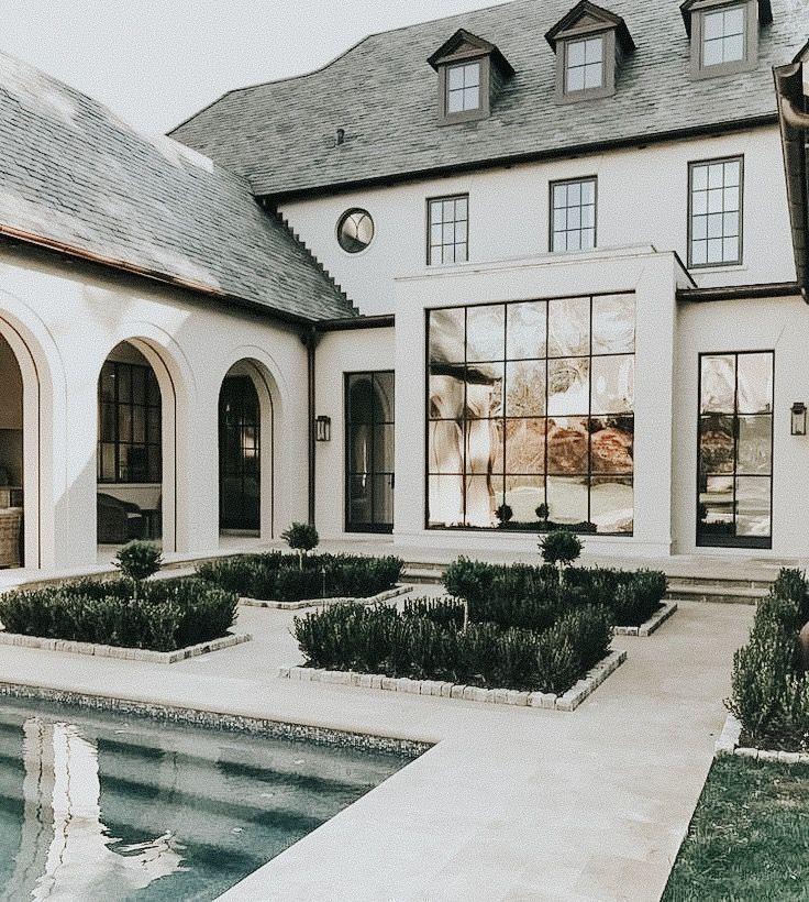 Pin By Harmony Hazelett On Dream House In 2020 Modern House Exterior House Designs Exterior Dream House Exterior