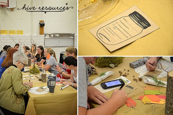 A fun fall kickoff womens event {Hive Resources}