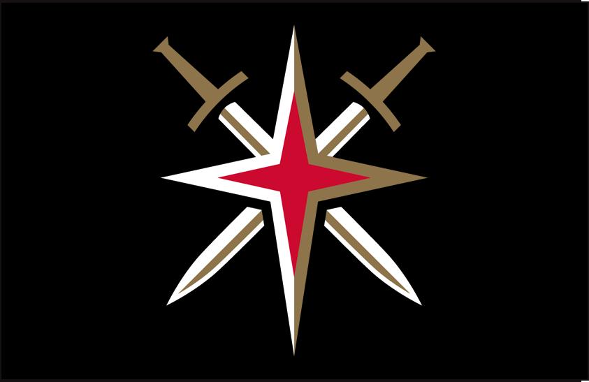 Vegas Golden Knights Logo | Vegas Golden Knights Alternate on Dark Logo - National Hockey League ...