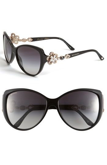 1a6769e38a Bvlgari  Limited Edition  Cat s Eye Sunglasses...would never fork over this  kind of money for sunglasses but so pretty!