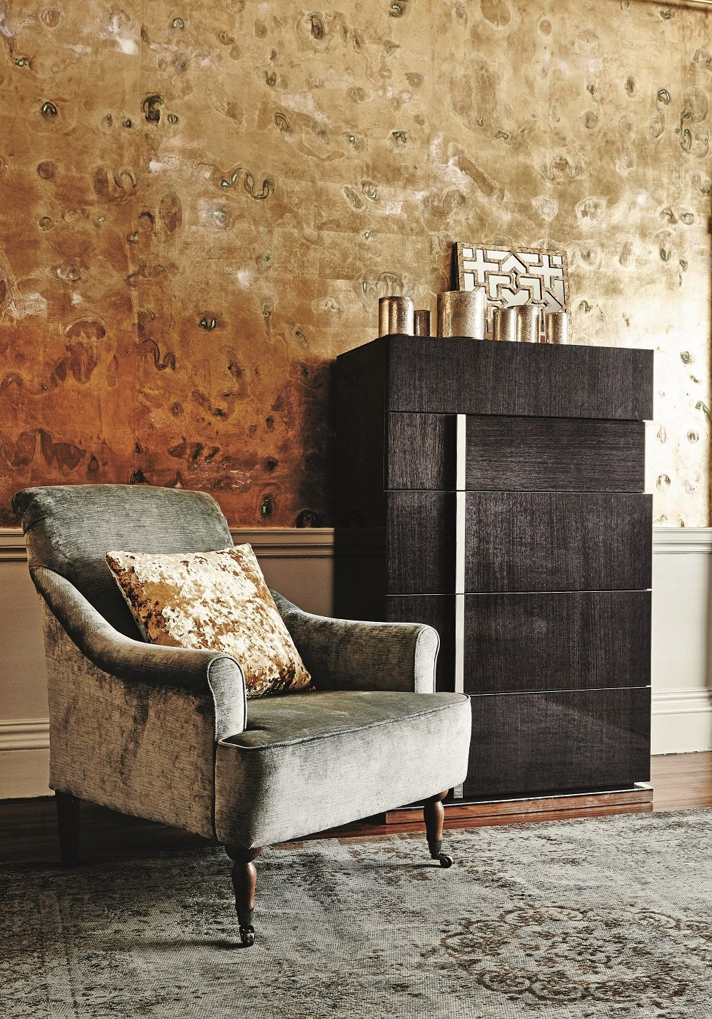 Walls · Add Sumptuous Velvet And Gorgeous Gold For A Look Thatu0027s Pure Luxe.