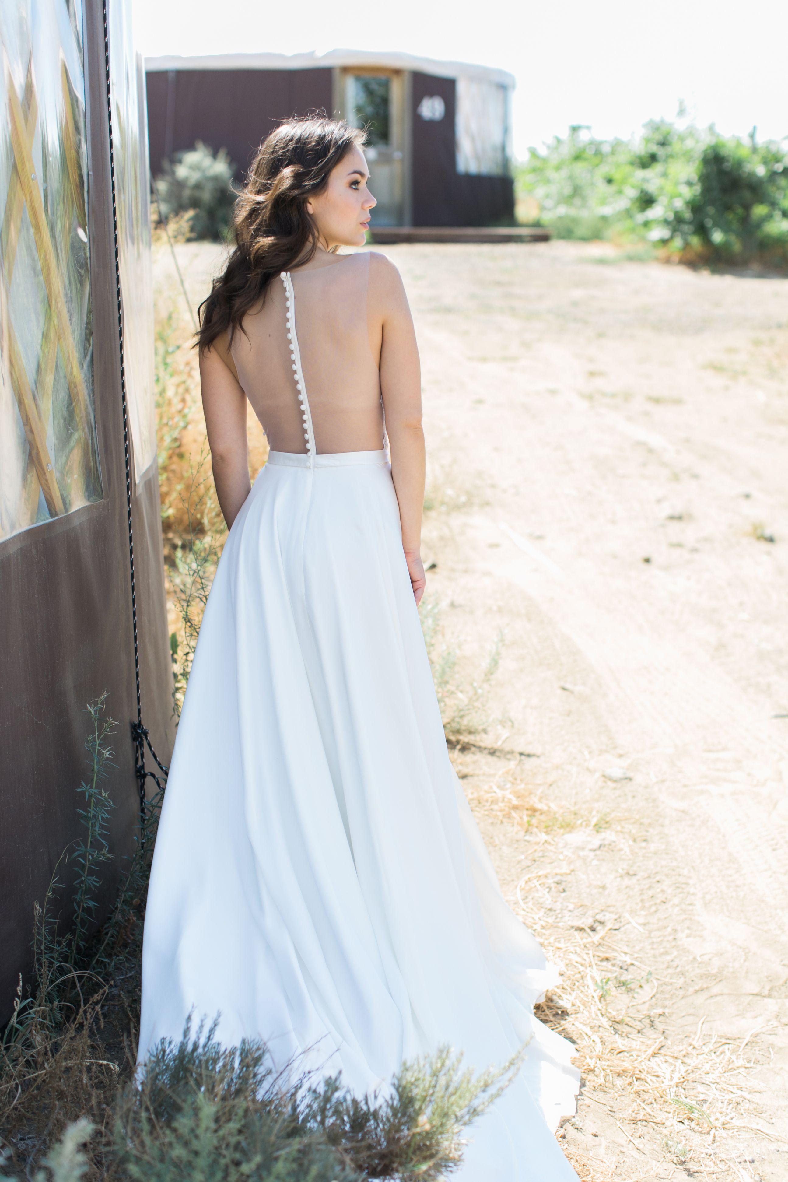 Petal Dress Back By Desiree Hartsock Bridal Boho Wedding Inspo Fancy Dresses Boho Wedding Gowns