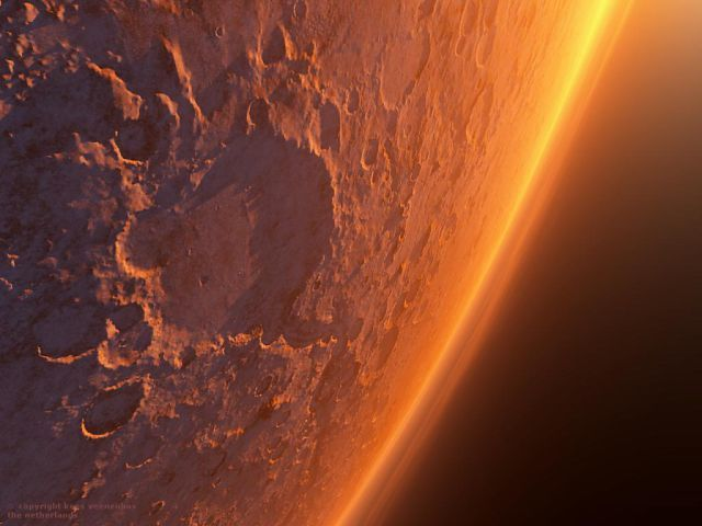 Sunrise On Mars Awesome Images Mars Wow Awesome Nature - Sunrise looks like mars