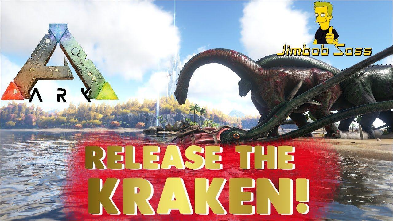 ARK: TUSOTEUTHIS - THE GIANT SQUID - KRAKEN | ARK Survival Evolved