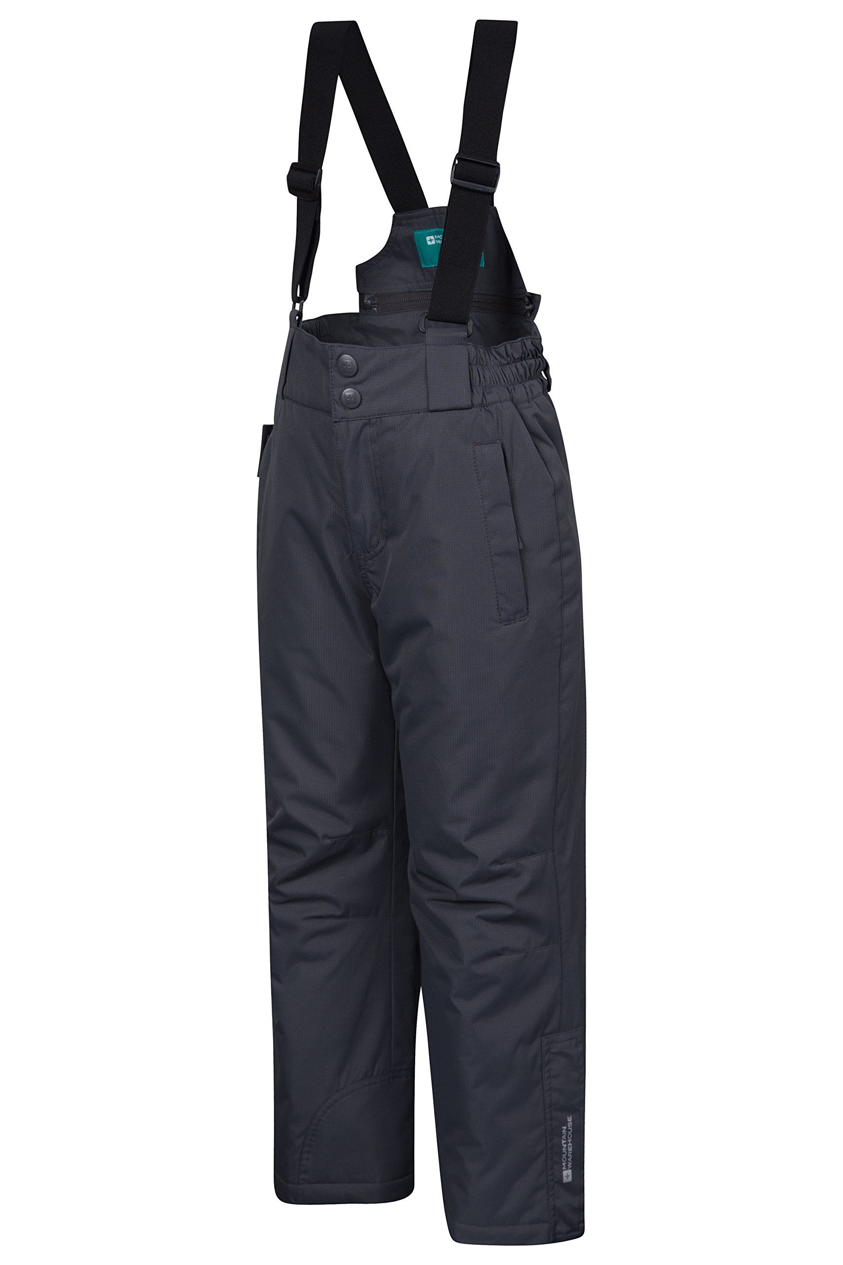 1abfec386 Mountain Warehouse Raptor Kids Snow Pants Dark Grey 9-10 years. Snowproof -  Treated