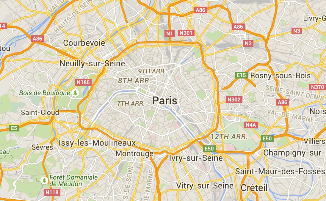 Paris Map   Neighborhoods, Districts, Arrondissements, Hotel Map