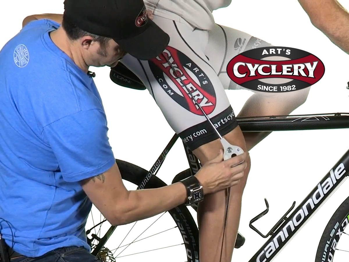 How To Find Proper Bicycle Saddle Height And Setback With Images