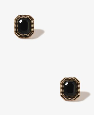 Etched Rhinestoned Earrings | FOREVER21 - 1019572421  TGIMBS -- thank god its my birthday soon!