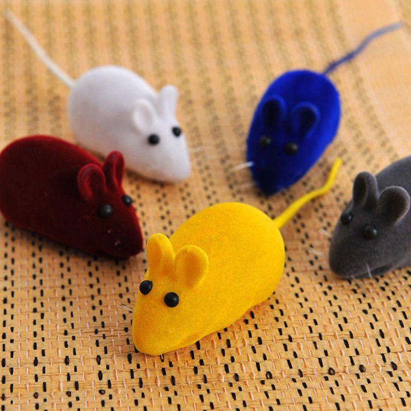 Mouse Rat Squeak Noise Pet False Sound Cat Kitten Playing Internative Toy 2pcs Unbranded Cats Kittens Pet Toys Pets