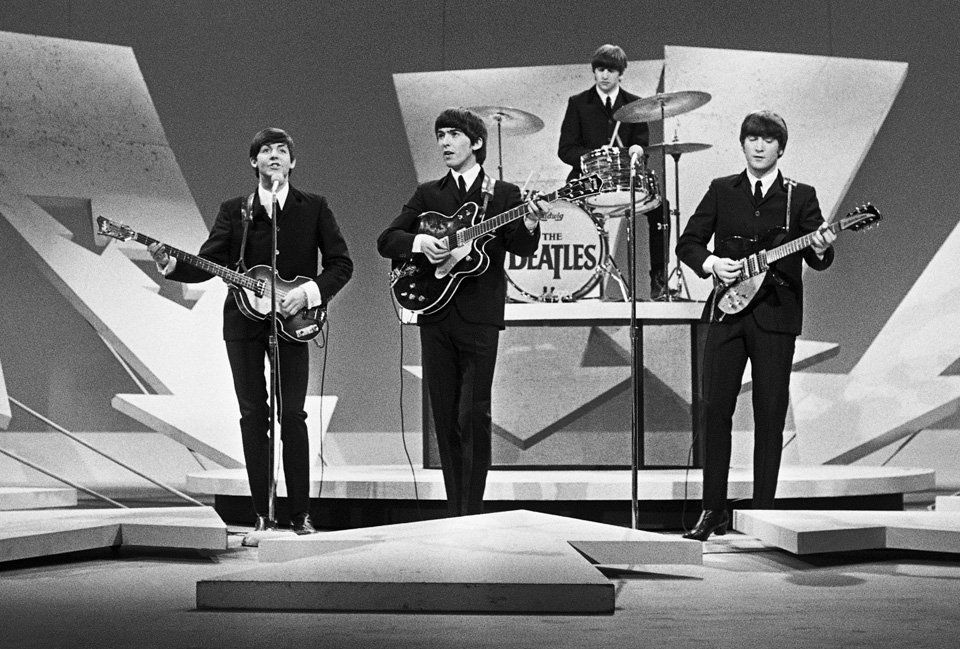 "The Beatles Ed Sullivan Appearance Photo Print  13 x 19/"""