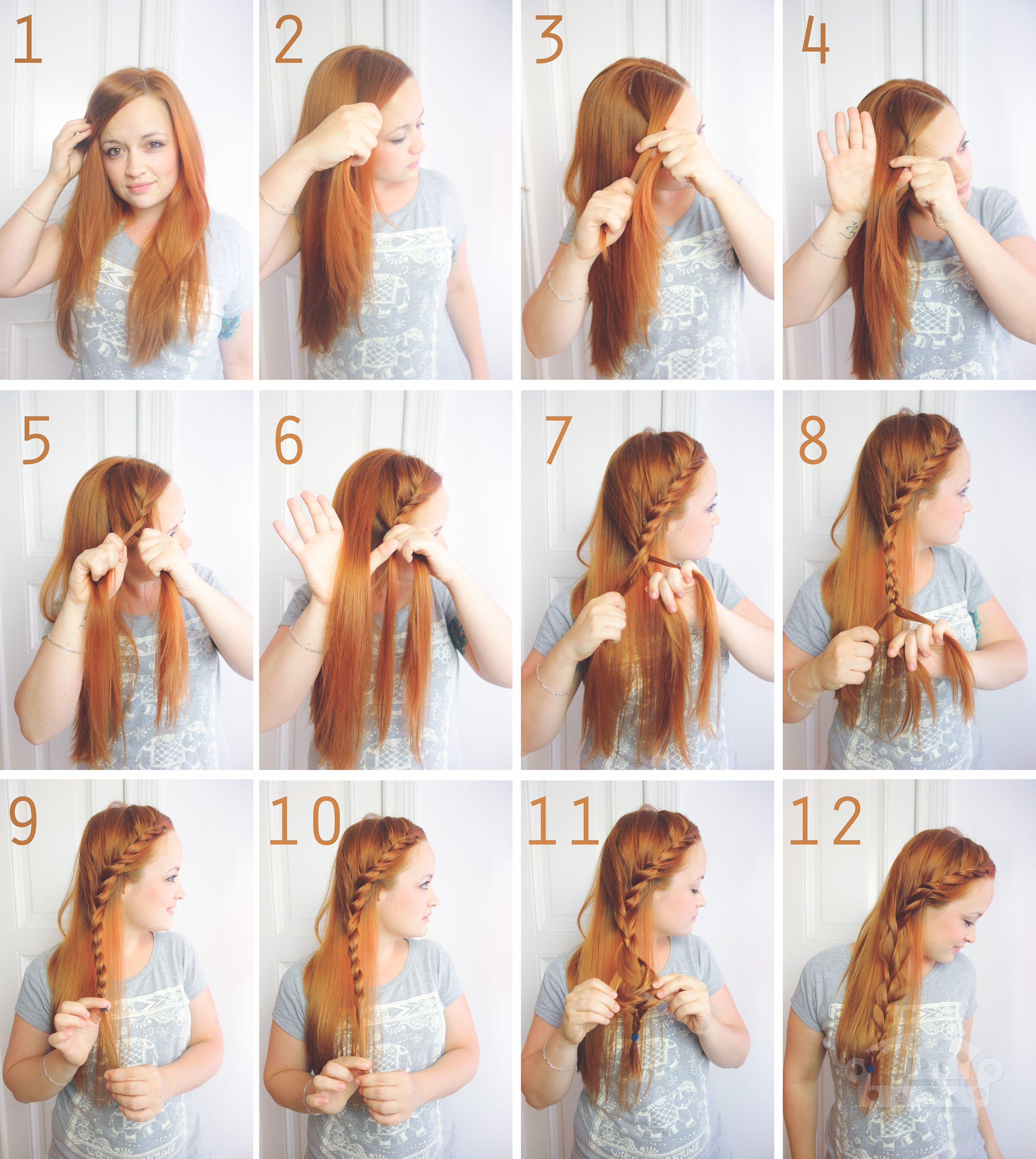 Frisur collage 2 beauty pinterest haar frisuren und selber