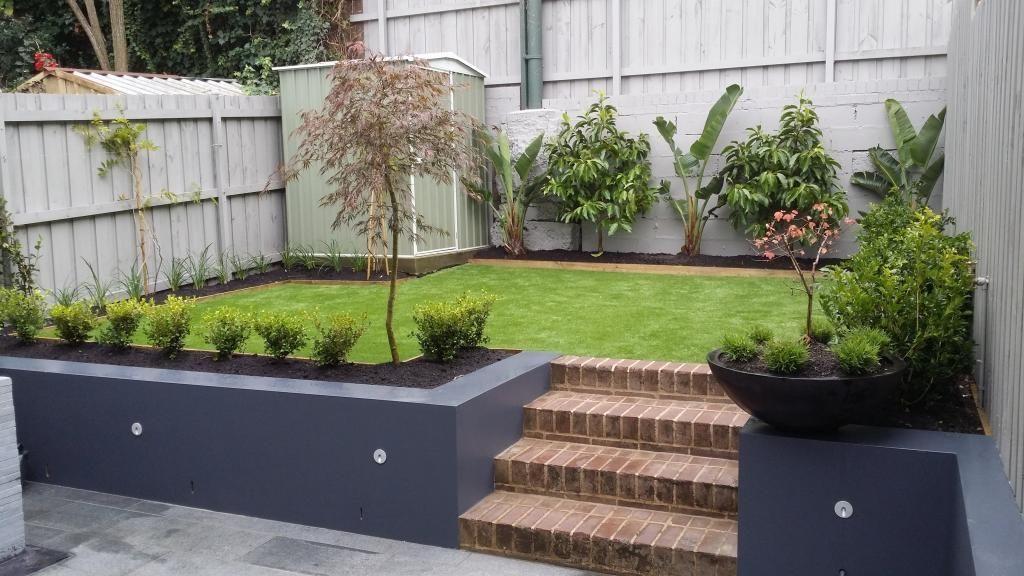 Pin By Fiona1965 On Garden In 2020 Backyard Retaining Walls Landscaping Retaining Walls Patio Garden Design
