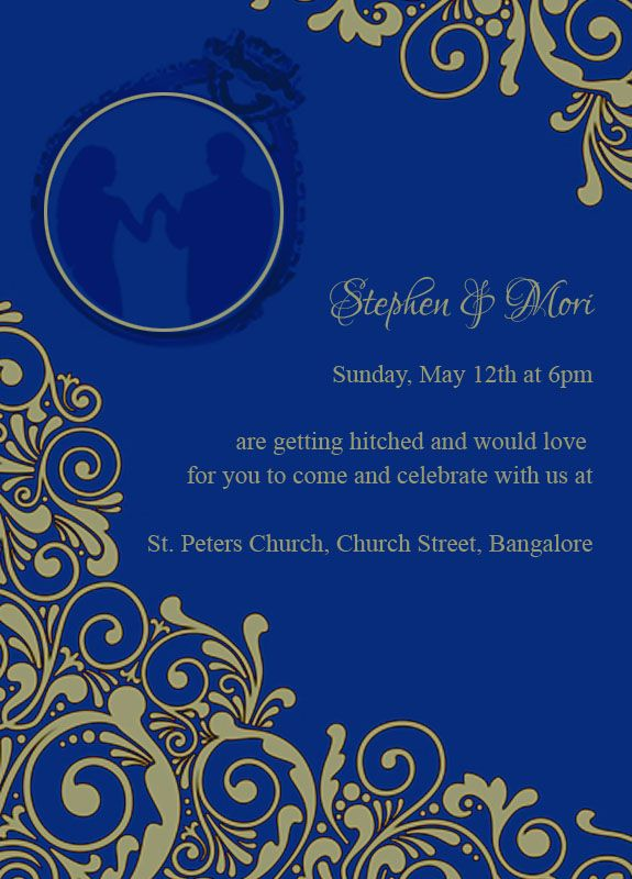 Pravin \ AmrutaSunday,Feb 5th at 6pm are getting hitched and would - engagement invitation matter