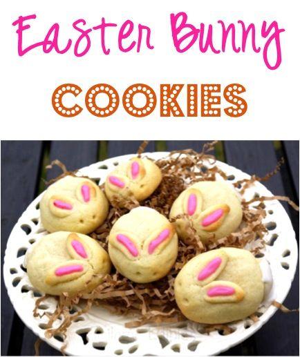 Easter Bunny Cookies Recipe! #bunnies #cookie #recipes
