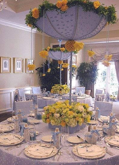 great baby shower centerpieces by reynford | Baby Shower ...