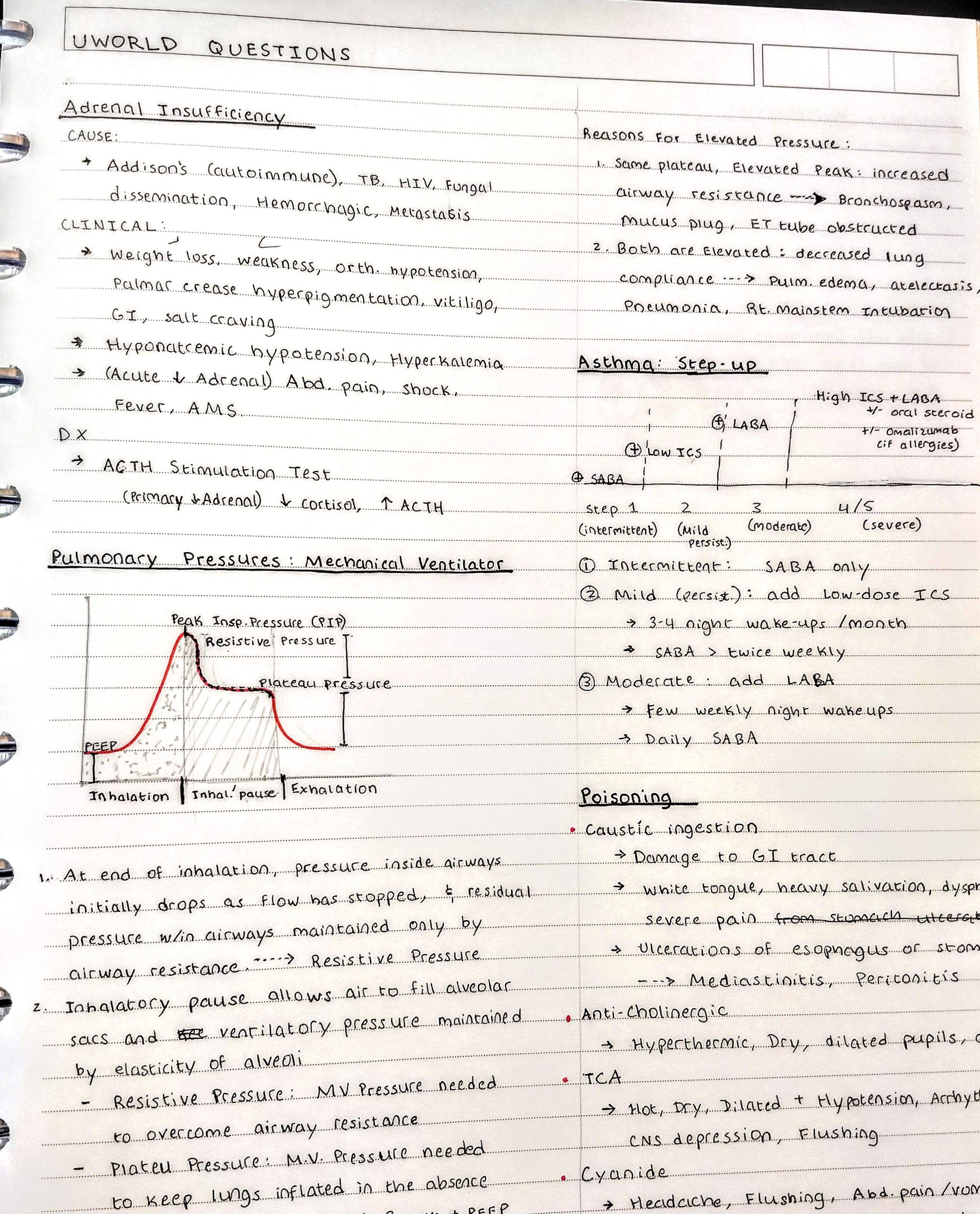 Med school notes | Study notes | Study notes, School notes, Med school