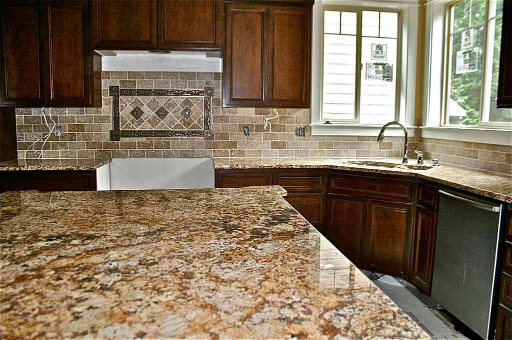 Back Splashes With Granite Counters Tiles Designer In Vancouver Wa Granite Countertops And Backsplash Granite Countertops Countertops Kitchen Decor