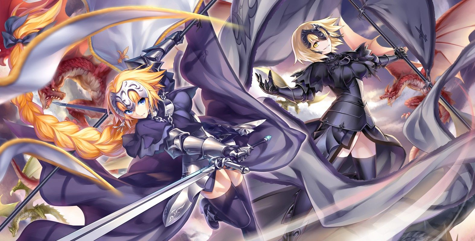 Anime 1574x800 Fate Series Fate/Apocrypha Jeanne d'arc
