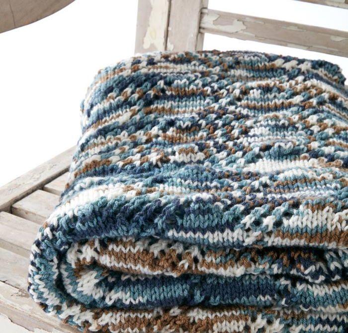 Seascape Lace Knit Blanket Pattern   my knitting patterns ...