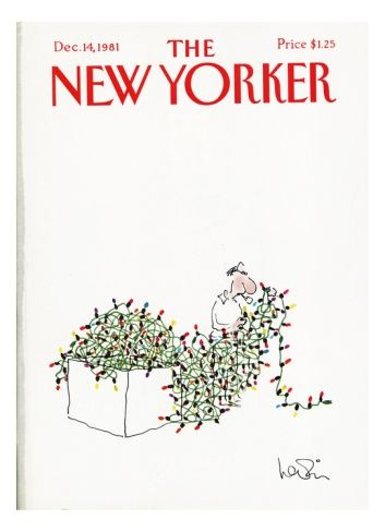image result for new yorker illustrations christmas