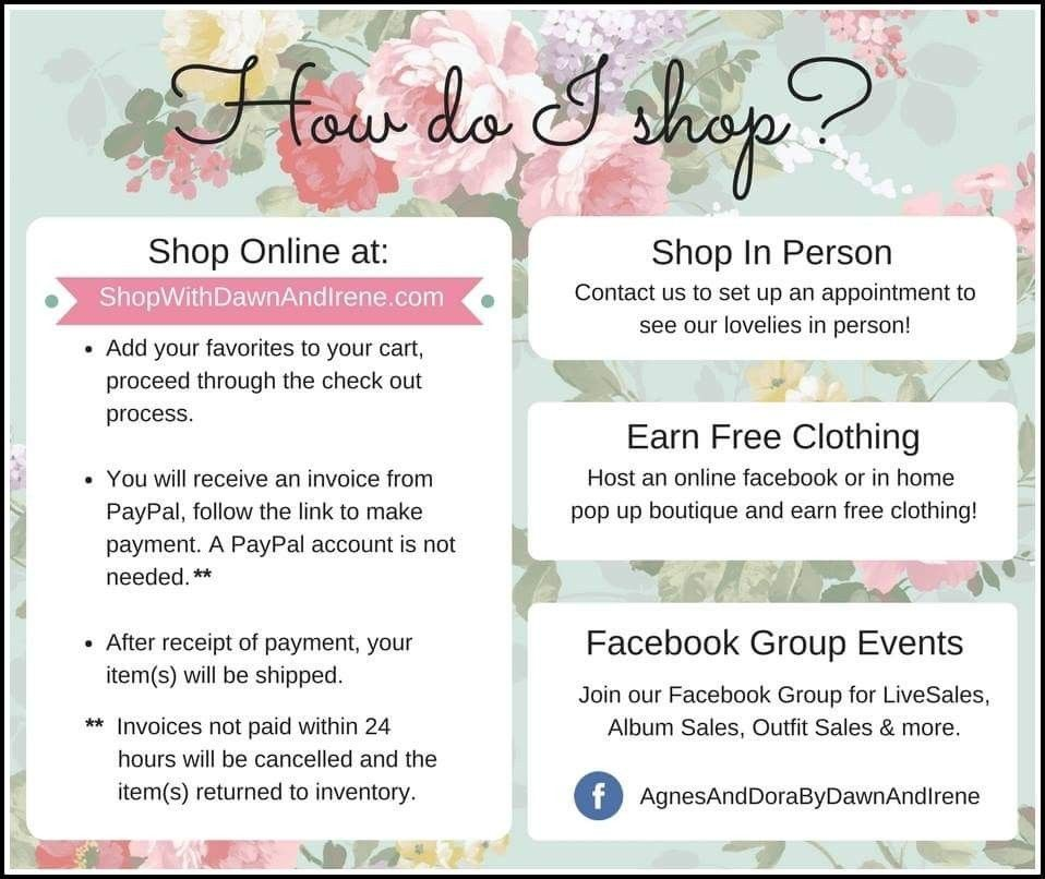 How To Shop Our Agnes Dora Boutique Online Or In Person How To - Create an invoice online for free clothing stores online
