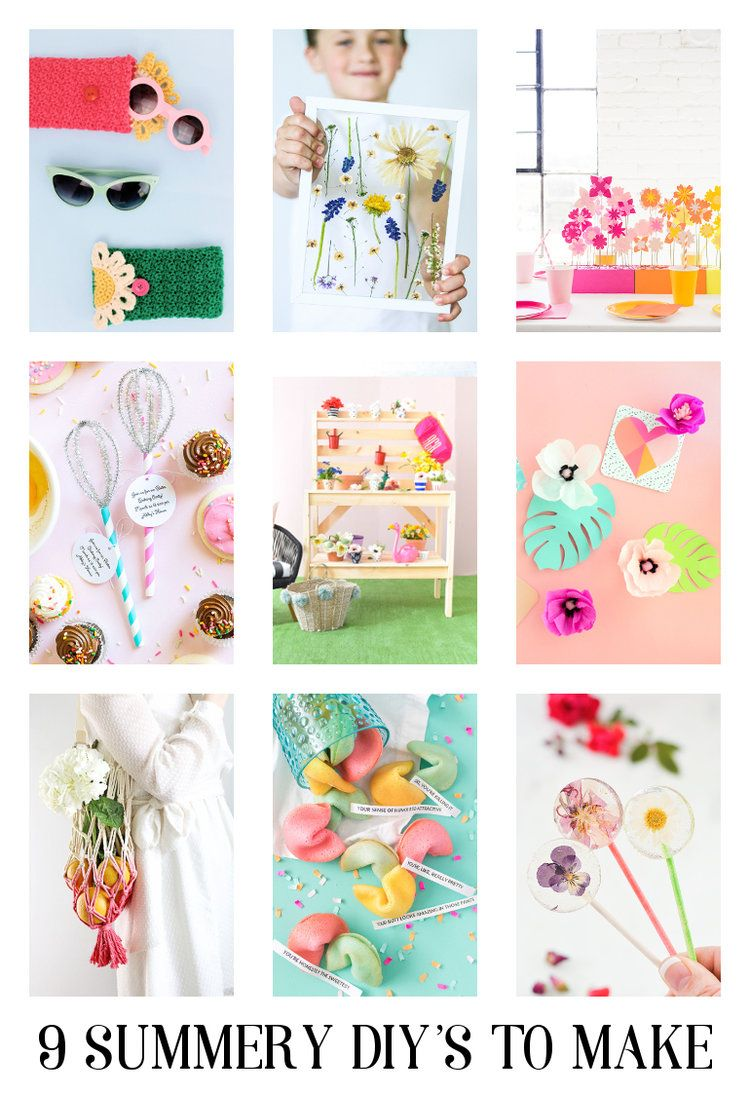9 Summery Diy S I Ve Been Meaning To Share Paper Crafts Diy