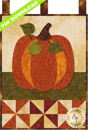 Little Blessings Pumpkin Patch October Pdf Download Fall Quilts Halloween Quilts Hanging Quilts