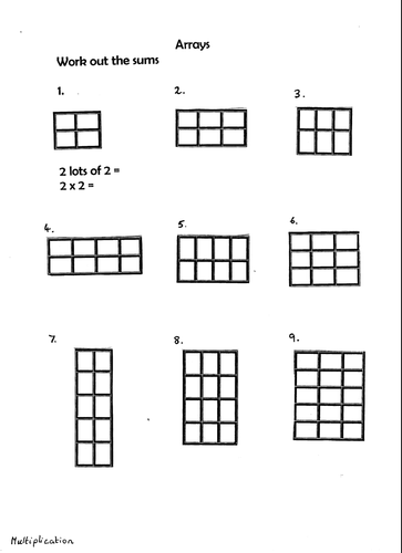 Image result for array math addition | math | Pinterest | Math ...