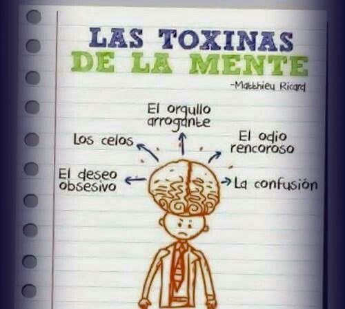 Las toxinas de la mente info