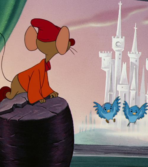 "Jaq ""the dreamer"" - Cinderella."
