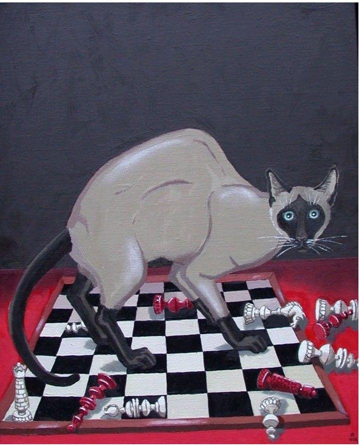 """Isabelle Rozot  -  """"Echec Et Mat/ Checkmate"""""""