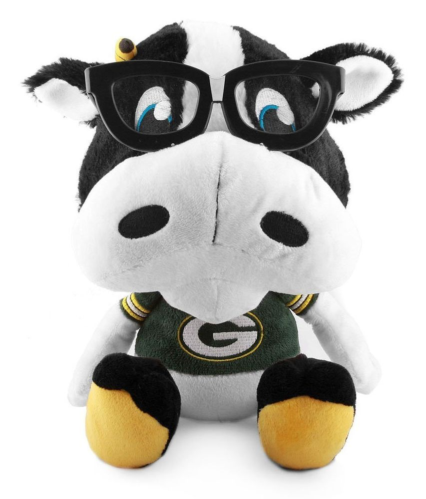 Green Bay Packers Study Buddy Team Nerds Plush Nfl Mascot 9 100 Polyester New From 19 97 Green Bay Packers Nfl Packers Packers
