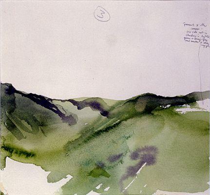 Untitled Scottish Landscape Iv By Michael Andrews Landscape