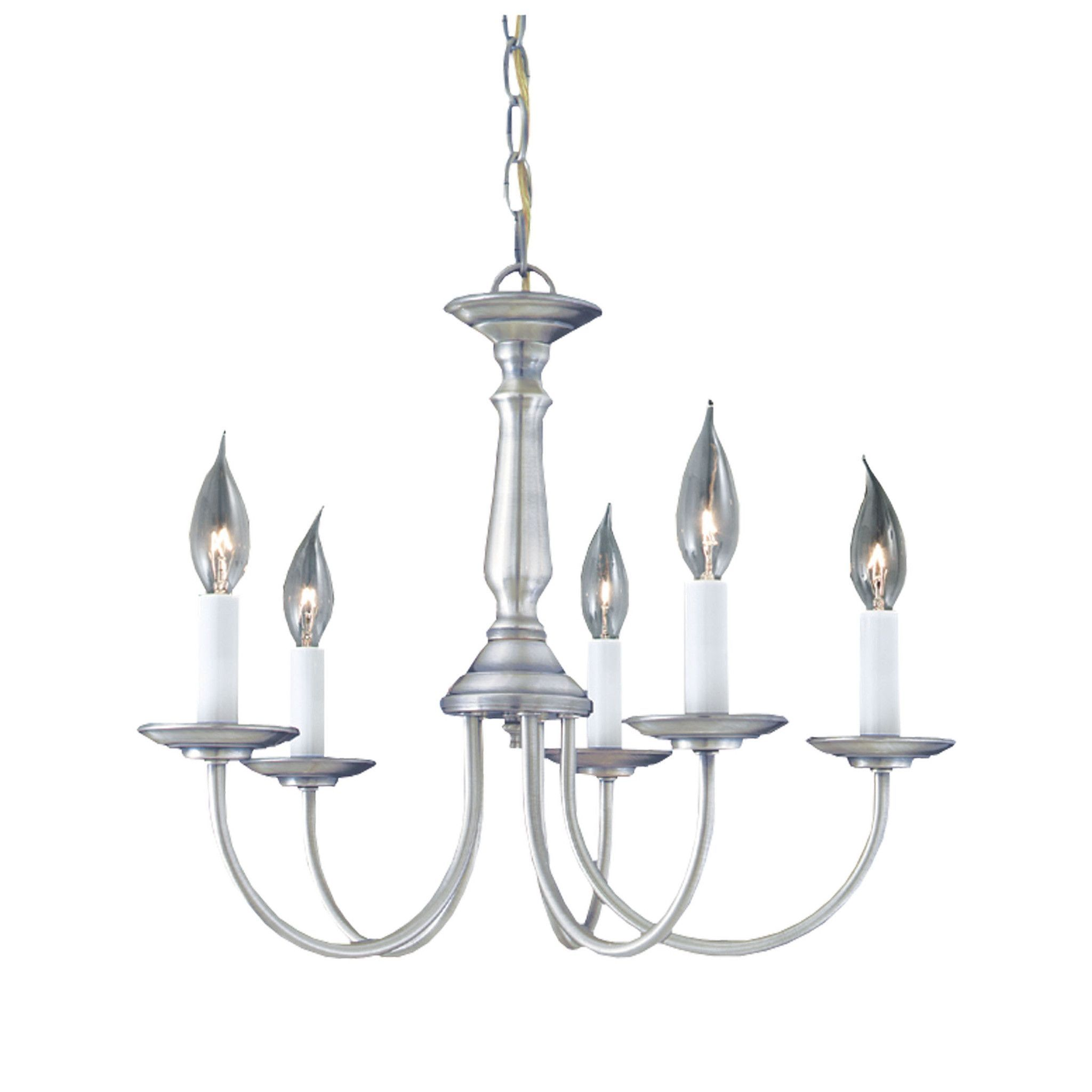 Essentials Chandelier Brushed Nickel 5X Products