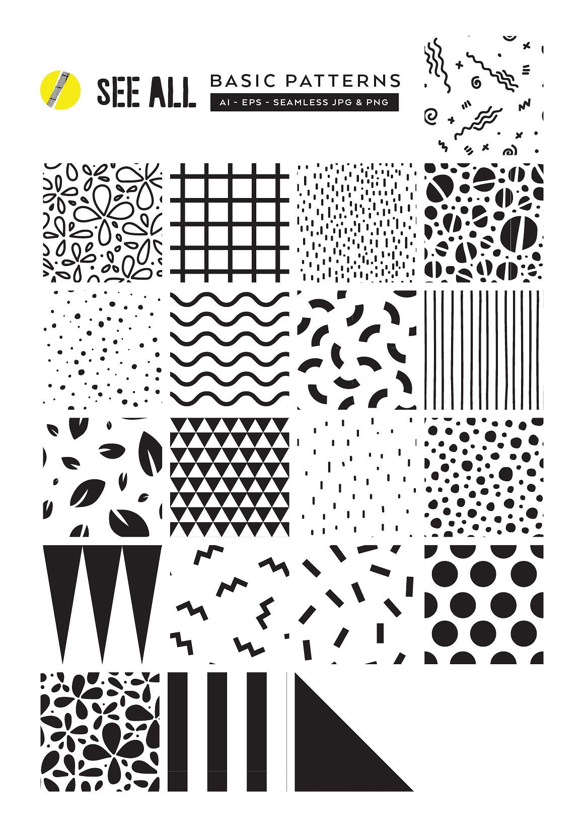 Summer Memphis Patterns Templates Memphis Pattern Simple