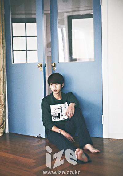 [PIC] 140808 #인피니트 Photoshoot & Interview with Ize - Sungyeol