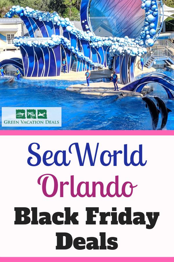 Seaworld Orlando Black Friday Deals Travel Savings Sea World Seaworld Orlando Vacation Deals