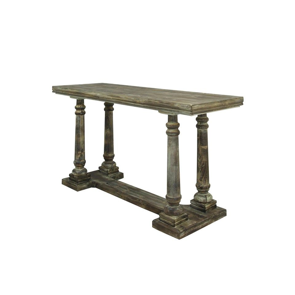 Classic console table of driftwood stylecraft sf1927 accent classic console table of driftwood stylecraft sf1927 accent shopac geotapseo Images
