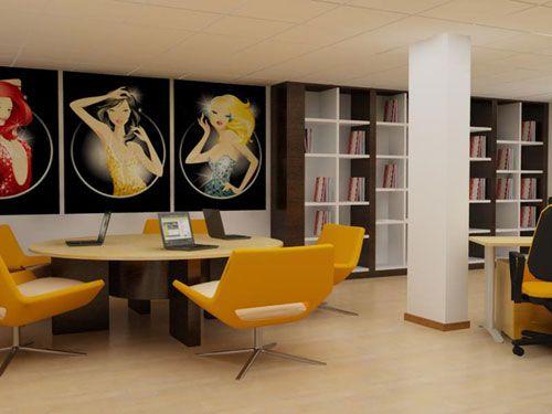 Textile Company Interior Design
