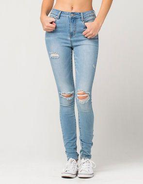 54c0c656f RSQ Manhattan High Rise Womens Ripped Skinny Jeans | Chloe Back to ...