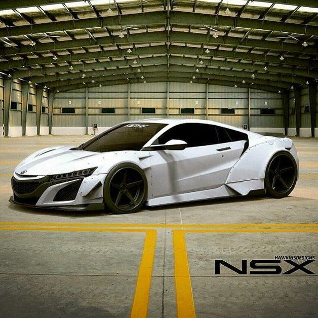 2017 Acura NSX I Did Not See This Option On The Build Your