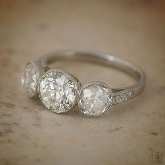 Picture Of Ring Gold Rope Ladies Bezel Diamond Rings Set