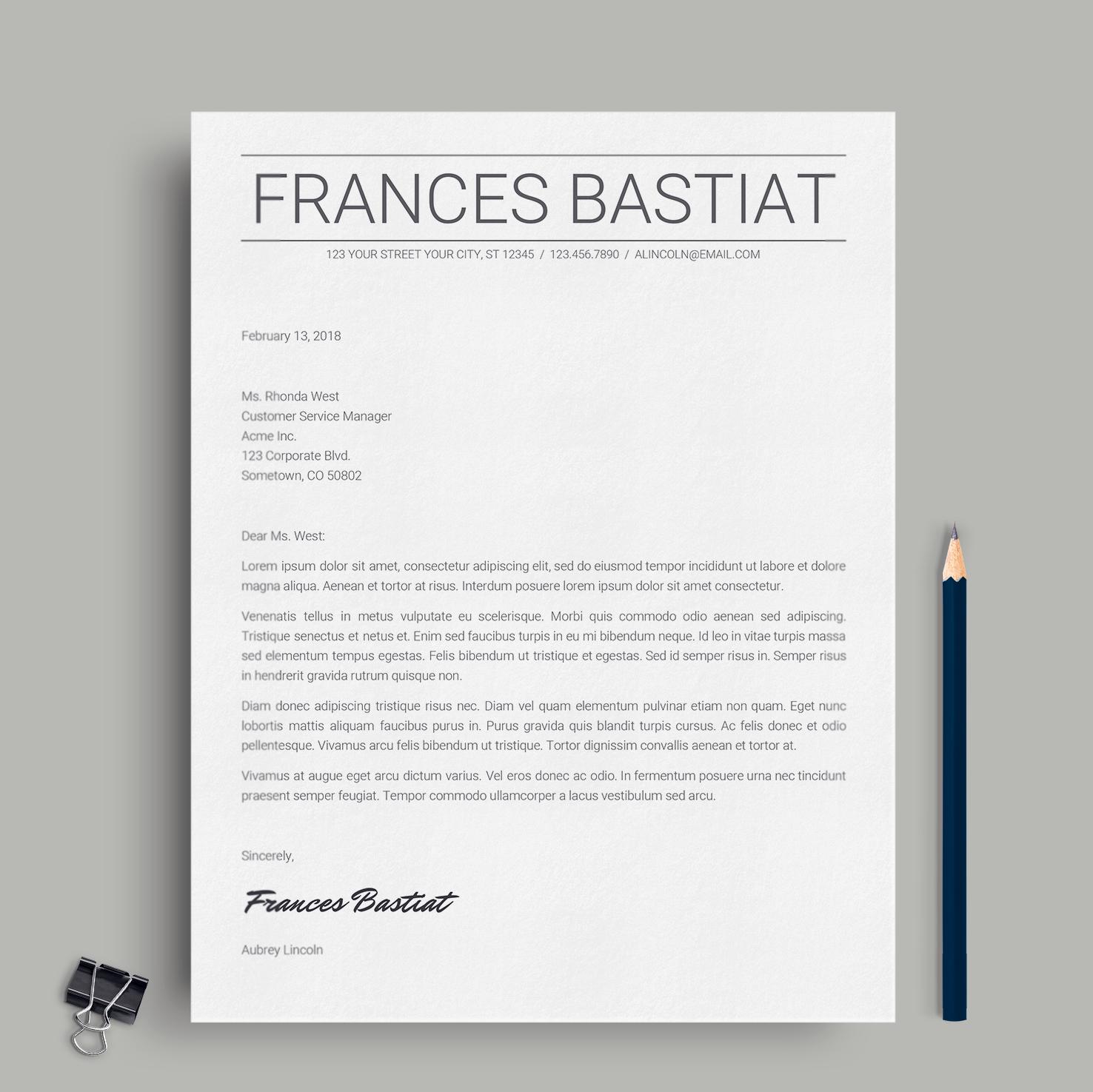 Dorable Reanudar En Francés Colección de Imágenes - Plantilla ...