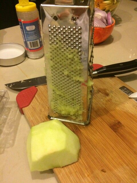 Manzana rallada