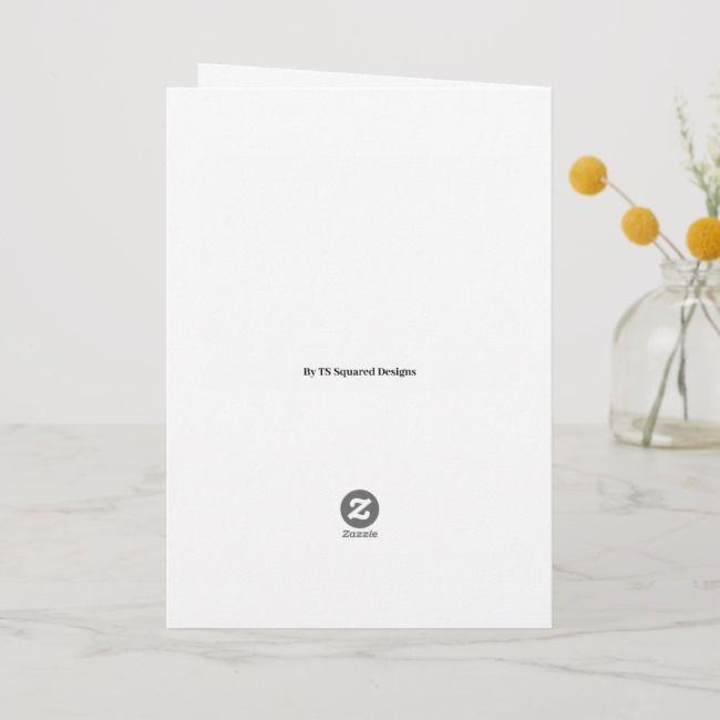 25th Anniversary Cute Silver Wedding Rings Card ,