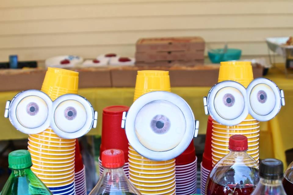 minions birthday party favors - Google Search