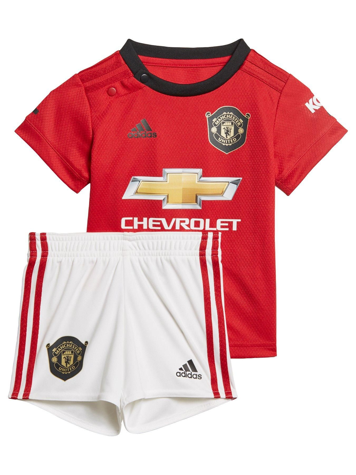 Manchester United 201920 Home Baby Kit Red   Manchester