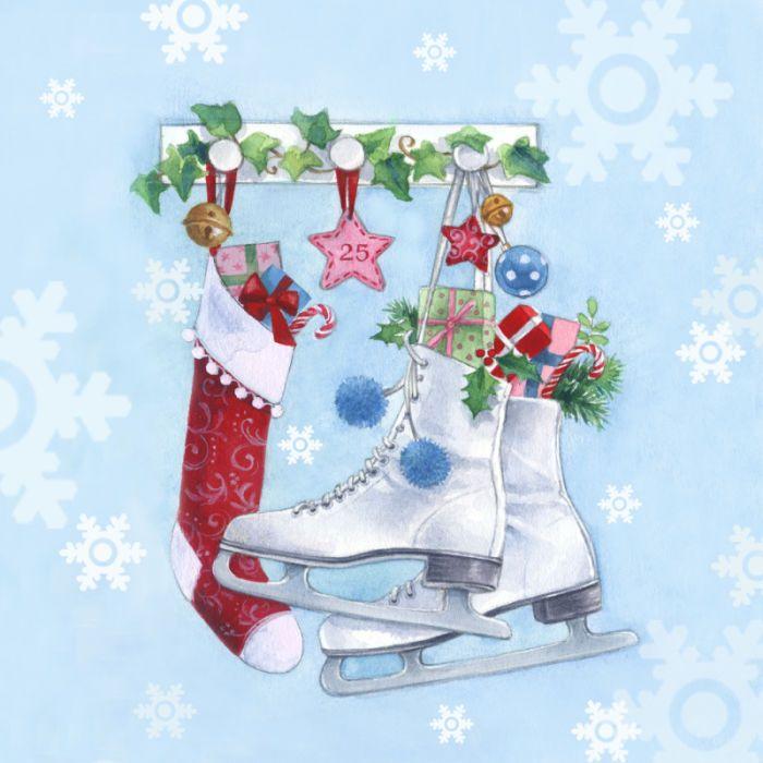 Lisa Alderson - LA - christmas skatesjpg Christmas cards
