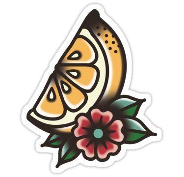 "Photo of ""TRADITIONAL – LEMON"" sticker by Rhi Rhi – TRADITIONAL – LEMON On …"